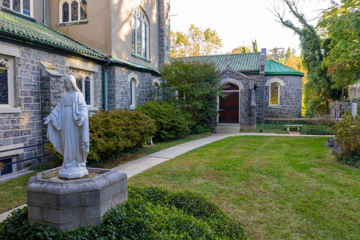 Shrine Marian Garden